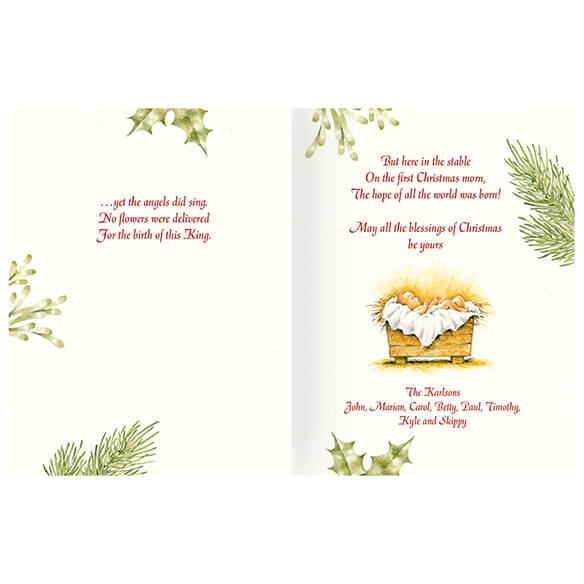 Christmas Certificate Card Set/20 - View 1