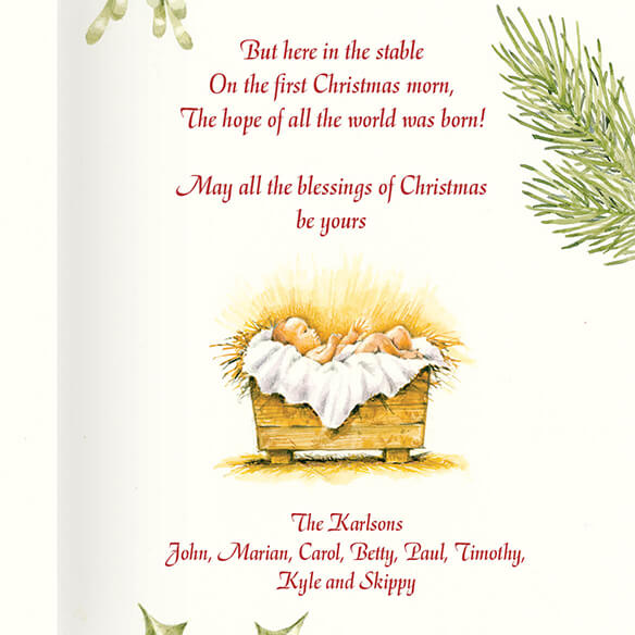 Christmas Certificate Card Set/20 - View 3