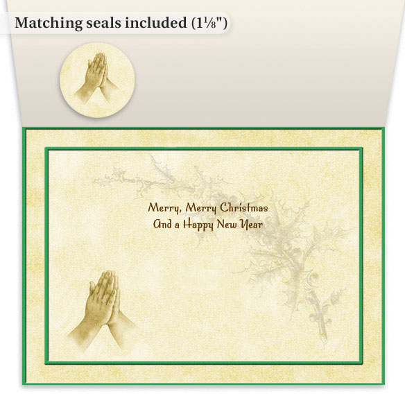Christmas Prayer Cards - Set Of 20 - View 2
