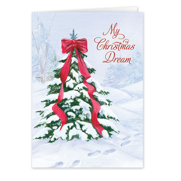 My Christmas Dream Christmas Card Set of 20 - View 2
