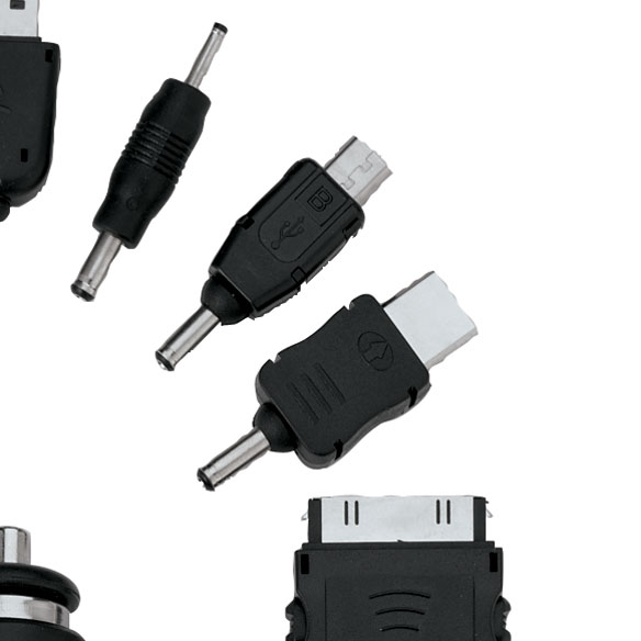 Car Plug with Universal Cell Phone Charger - View 2