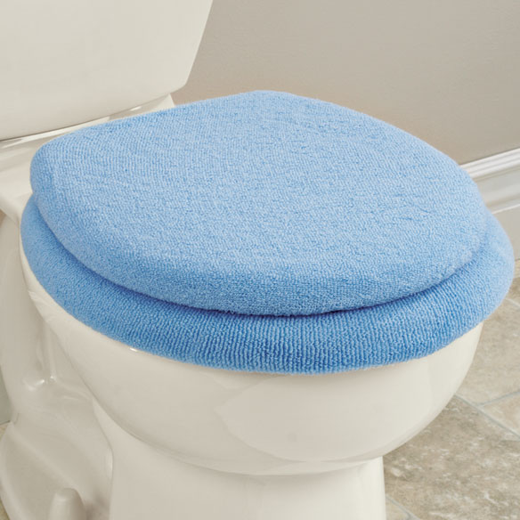 Decorative Toilet Lid Cover - View 3