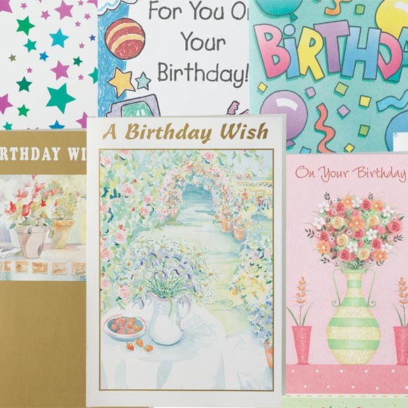 Assorted Birthday Cards - Set Of 24 - View 4