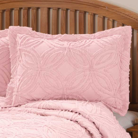 The Eliza Chenille Bedspread Sham by East Wing Comforts - View 3