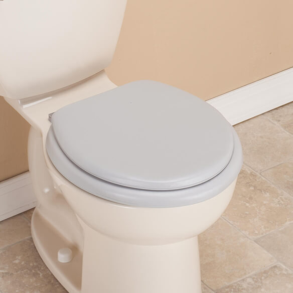 Padded Toilet Seat And Lid - View 1