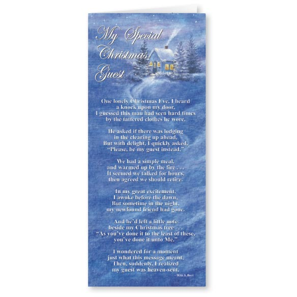 Special Guest Christmas Card Set of 20