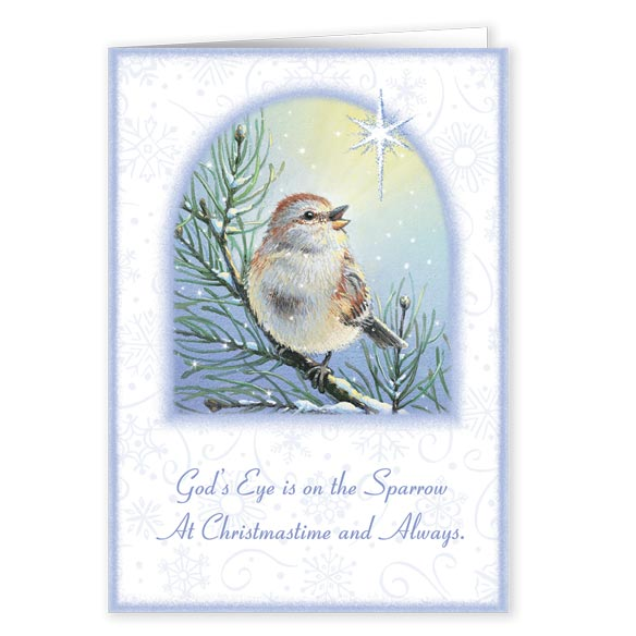 God's Sparrow Christmas Card Set of 20 - View 1