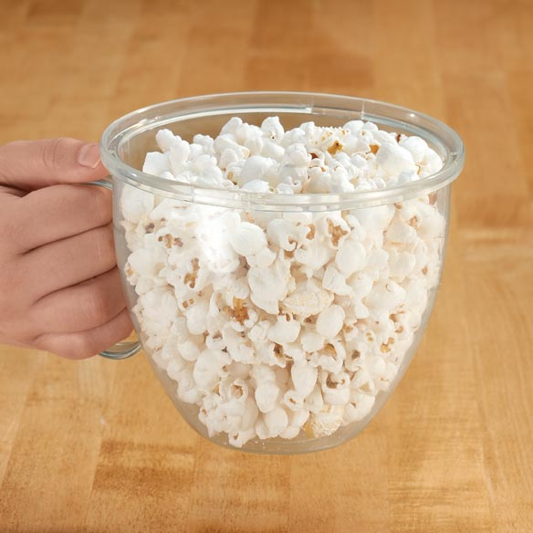 Handled Microwave Popcorn Maker - View 2