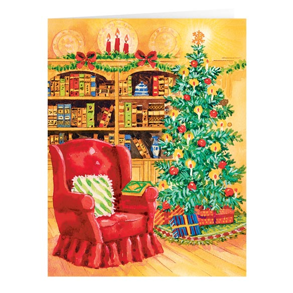 Book of Friendship Christmas Card Set of 20 - View 1