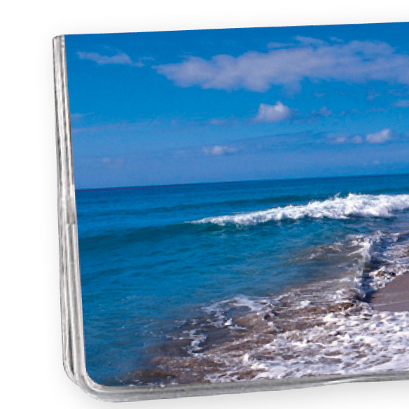 Beach Scene 2 Year Personalized Planner - View 1