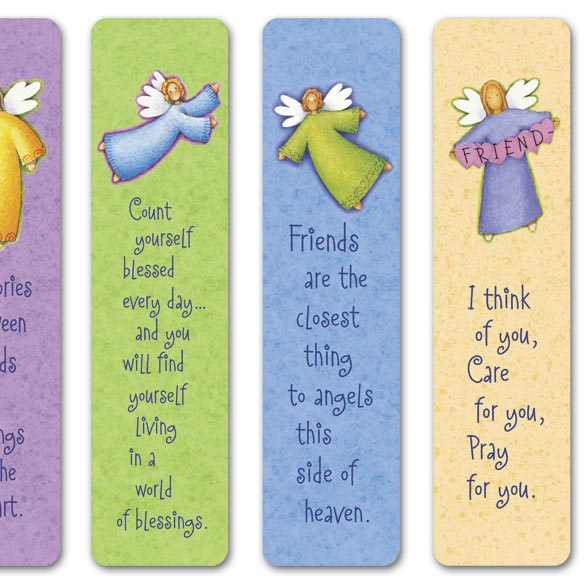 Angel Bookmarks - View 3