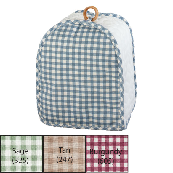 Gingham Can Opener Cover - View 2