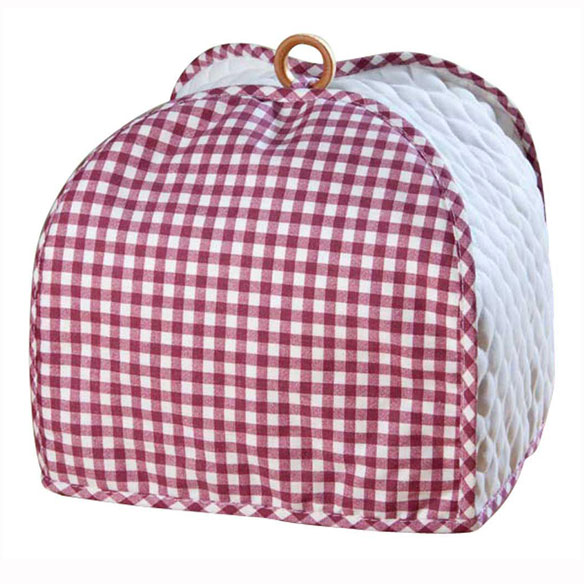 Gingham 4 Slice Toaster Cover - View 3