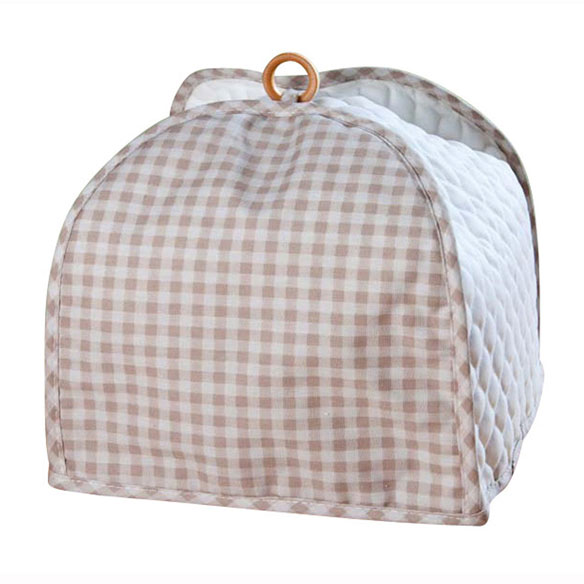 Gingham 4 Slice Toaster Cover - View 4