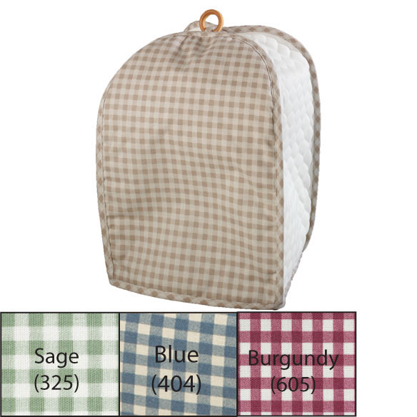 Gingham Mixer/Coffee Maker Cover - View 1