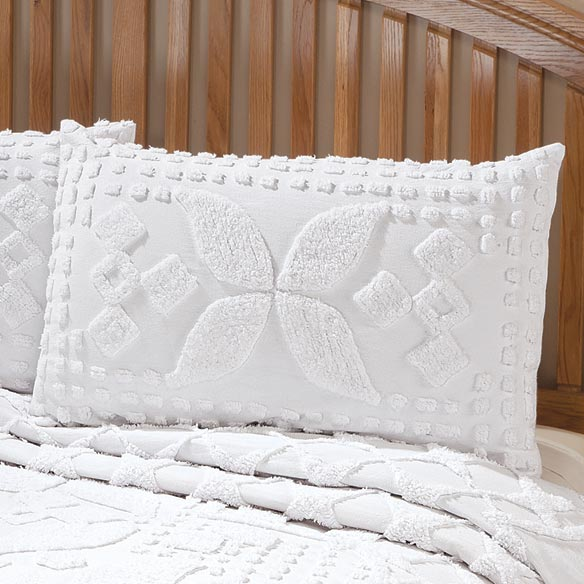 Jacqueline Chenille Sham by East Wing Comforts™ - View 2