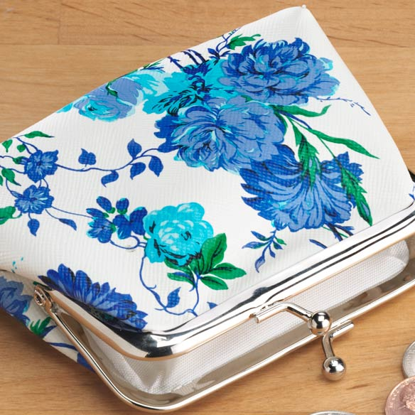 Roses and Peony Coin Purse - View 1
