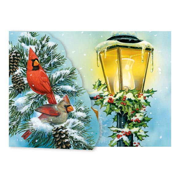 Cardinal Signpost Card Set of 20 - View 1