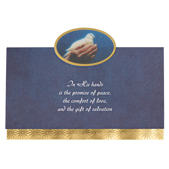 Safe In God's Hands Card Set of 20 - View 2