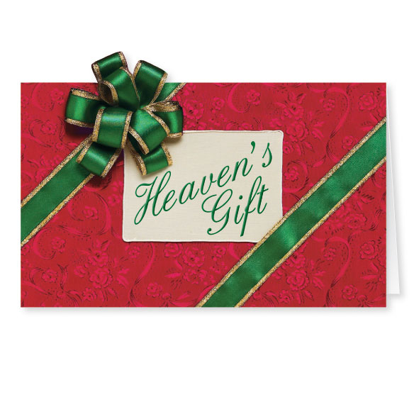 Heaven's Gift Christmas Card Set of 20 - View 1