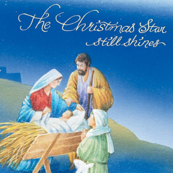Holy Night Christmas Card - Set Of 20 - View 4