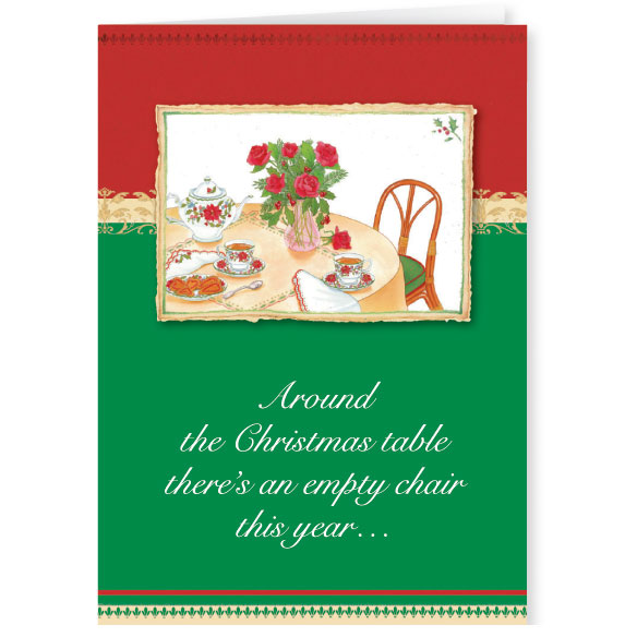 Memorial Greeting Christmas Card Set of 20 - View 1