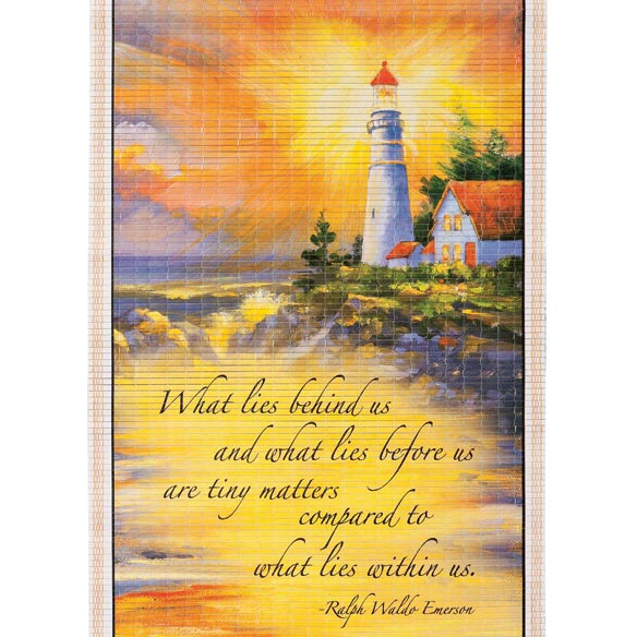 Lighthouse Scroll Calendar - View 2