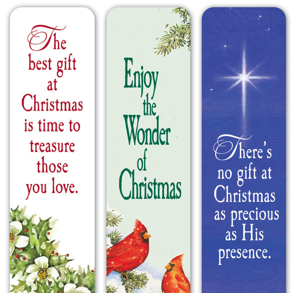 Christmas Bookmarks Set of 12 - View 2