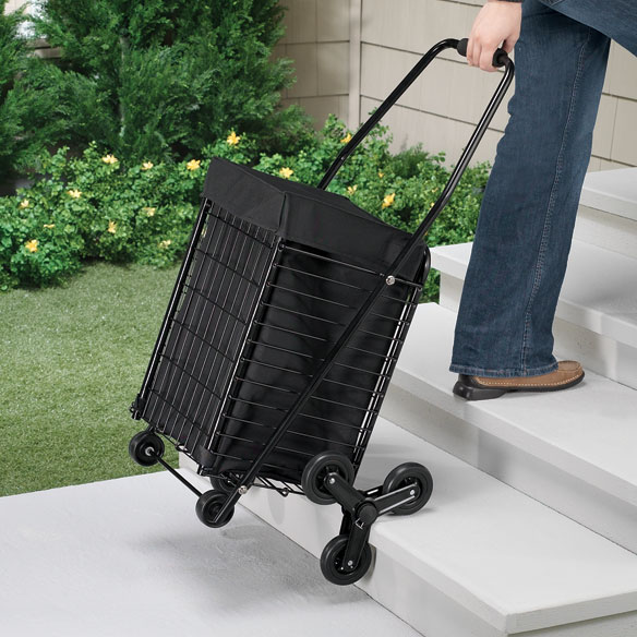 Waterproof Rolling Shopping Cart Liner With Handles - View 2