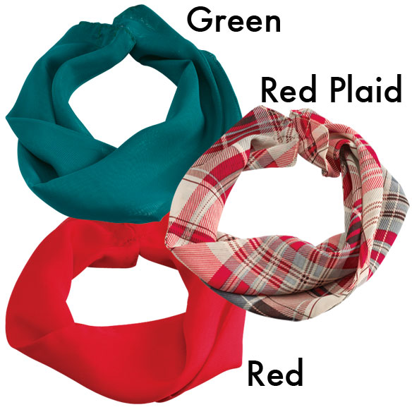 Holiday Magnetic Cowl Scarves - View 1