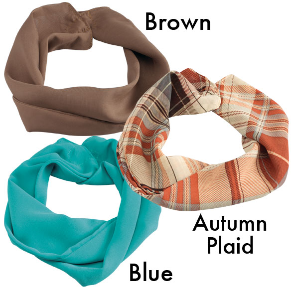 Fall Magnetic Cowl Scarves - View 1
