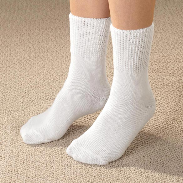 Diabetic Calf Socks - View 2