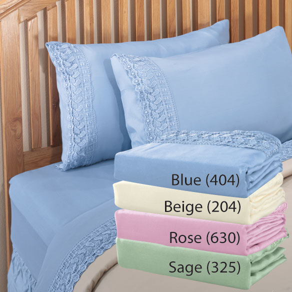 Lace Sheet Set - View 1