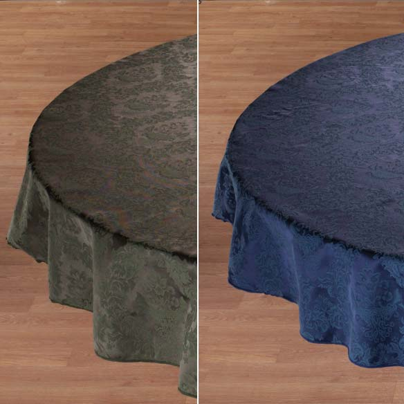 Damask Table Cover - View 2