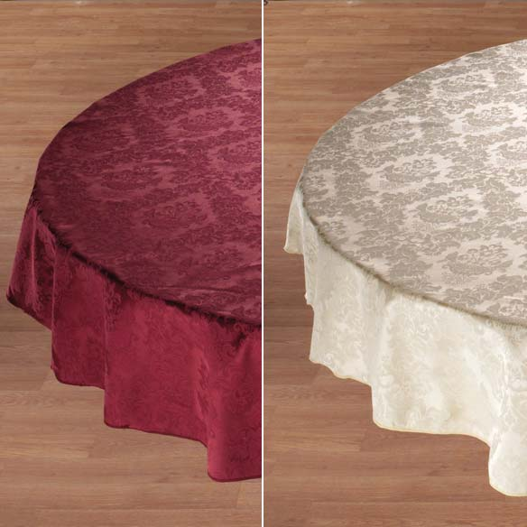 Damask Table Cover