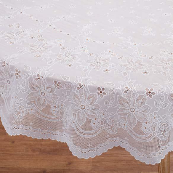 Vinyl Lace Tablecloth Crochet Vinyl Lace Tablecloth