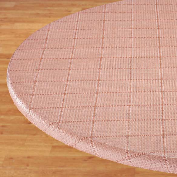 Woven Lattice Elasticized Table Cover - View 2