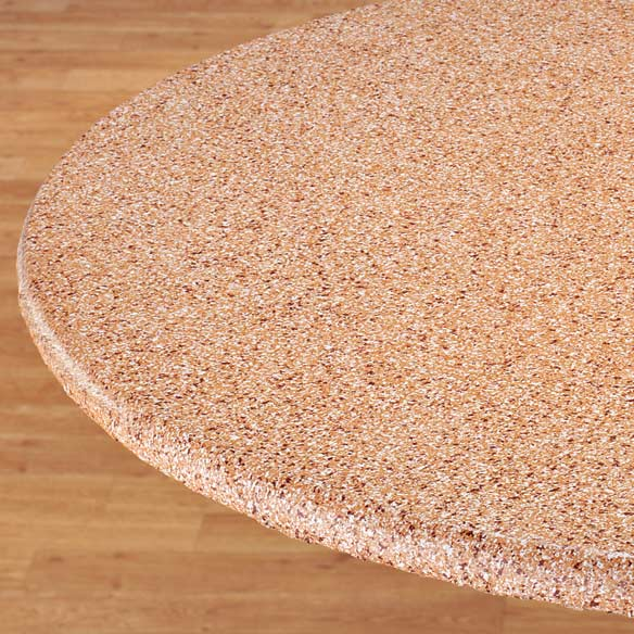 Polished Granite Elasticized Table Cover - View 4