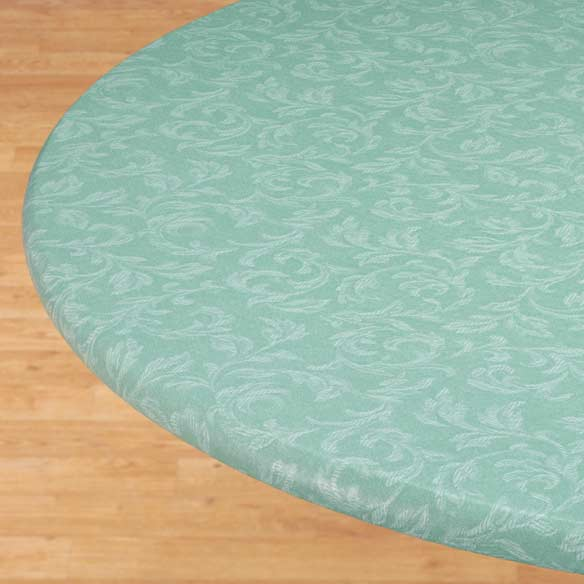 Villa Elastic Round Tablecloth - View 2