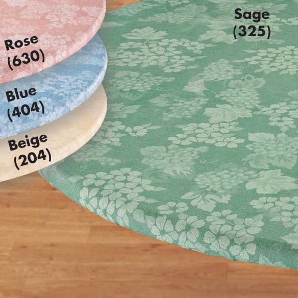 Grapes Elasticized Table Cover - View 1