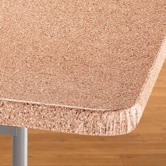 Granite Vinyl Elasticized Banquet Table Cover - View 4