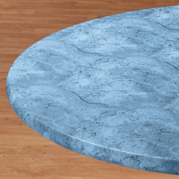 Marbled Elasticized Table Cover - View 2