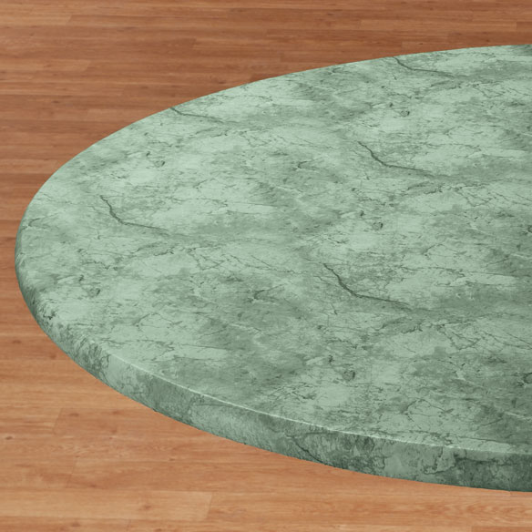 Marbled Elasticized Table Cover - View 4