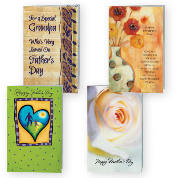Mother's and Father's Day Cards Value Pack of 12 - View 1
