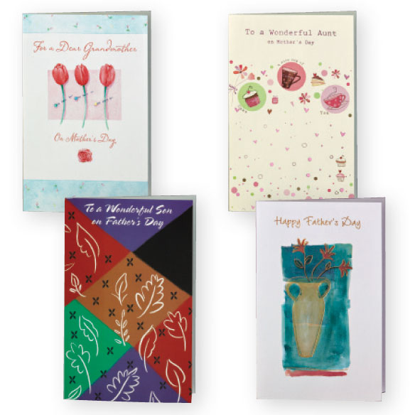 Mother's and Father's Day Cards Value Pack of 12 - View 4