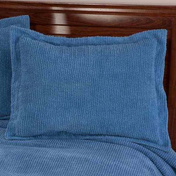The Jane Chenille Straight Line Sham - View 4