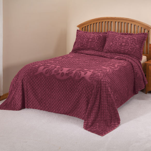 The Martha Chenille Bedding by East Wing Comforts™ - View 3