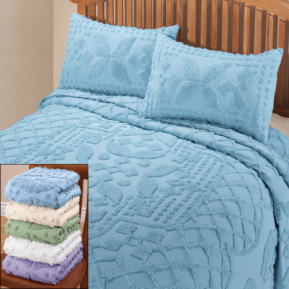 The Jacqueline Chenille Bedding Sets - View 1
