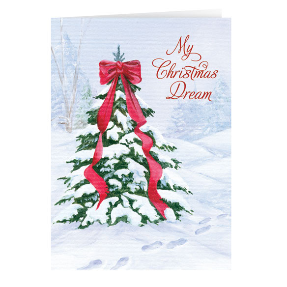 My Christmas Dream Nonpersonalized Card Set of 20 - View 1