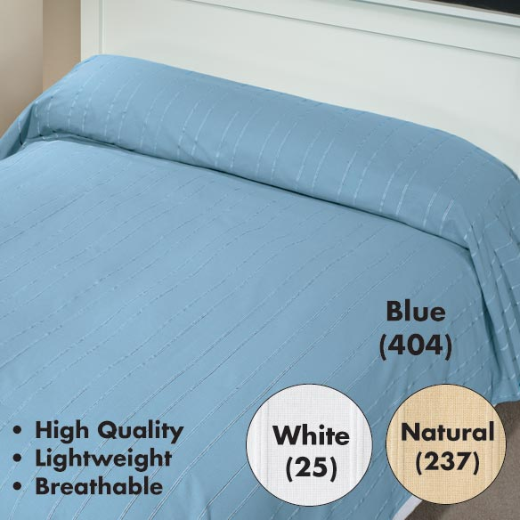 Cotton Jacquard Bedspread - View 1